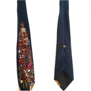 Other - Christmas Tree Holiday Bear Theme Tie